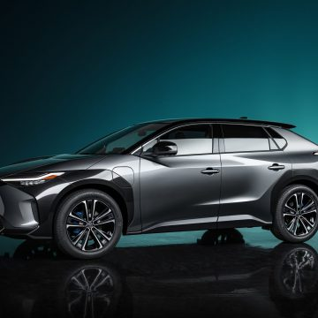 Toyota bZ4X Concept previews first in a series of battery electric vehicles
