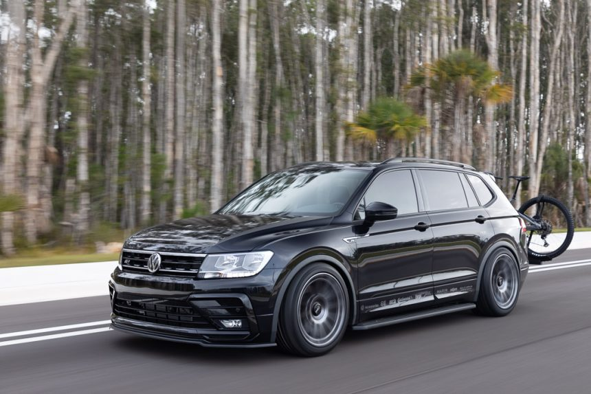 The latest Volkswagen 2021 Enthusiast Fleet showstopper: The Tiguan SE R-Line Black RiNo Concept