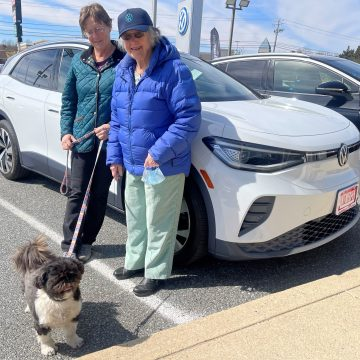 Meet two of the first Volkswagen ID.4 EV owners: a solar-powered grandmother and a baseball superfan