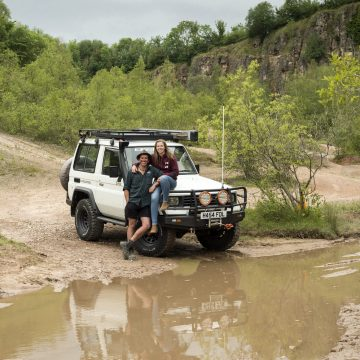 Toyota People: The Cradock's FJ74 Land Cruiser