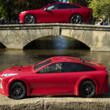 Mini Mirai: How we shrunk our hydrogen-fuelled car