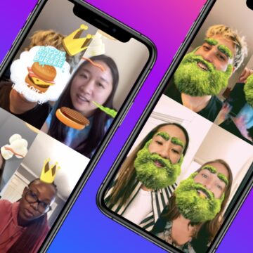 Facebook: Introducing AR Experiences for Video Calls on Messenger