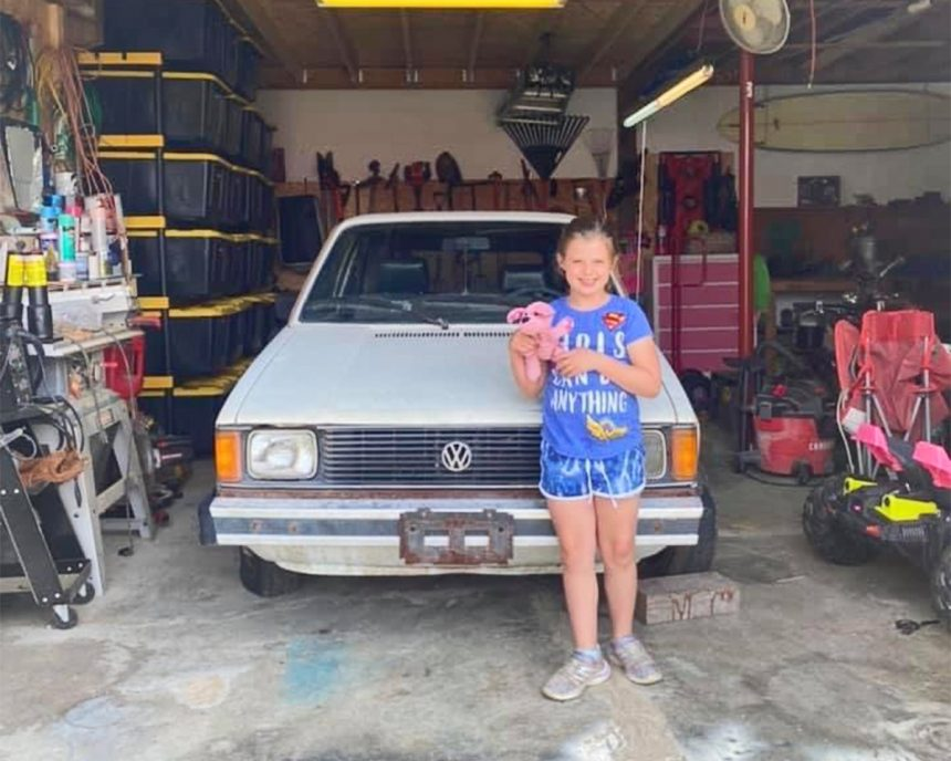 A father-daughter duo's journey to restore a 1983 Volkswagen Rabbit